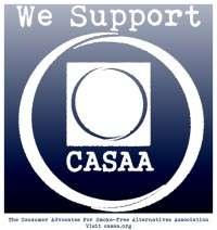 CASAA fights for vapers. We support CASAA.